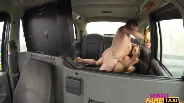 Fake Taxi Female driver gives Head on the backseat Video thumb #13
