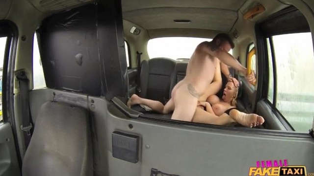 Fake Taxi Female driver gives Head on the backseat Video thumb #14