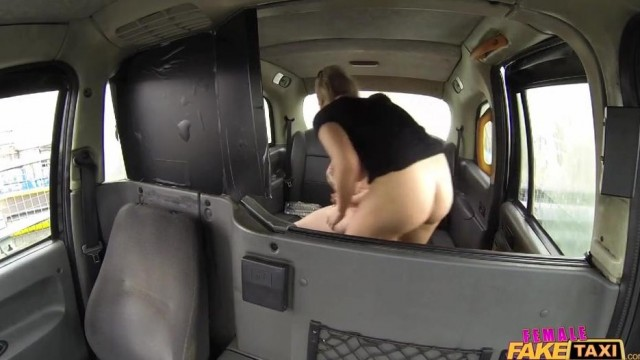 Fake Taxi Female driver gives Head on the backseat Video thumb #18