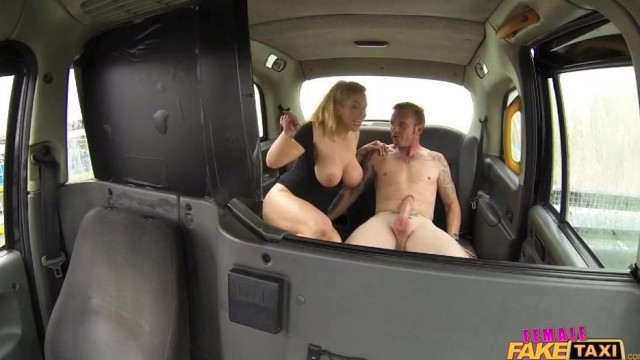Fake Taxi Female driver gives Head on the backseat Video thumb #1