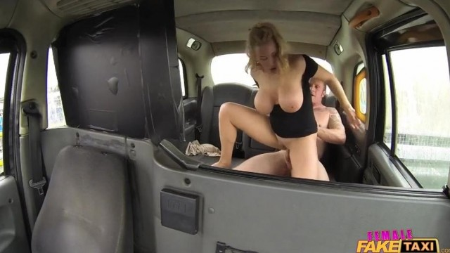 Fake Taxi Female driver gives Head on the backseat Video thumb #3