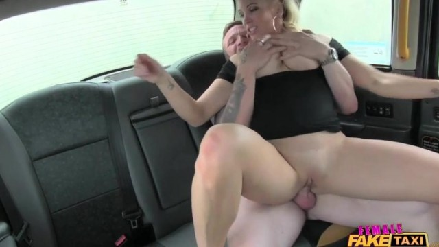 Fake Taxi Female driver gives Head on the backseat Video thumb #4