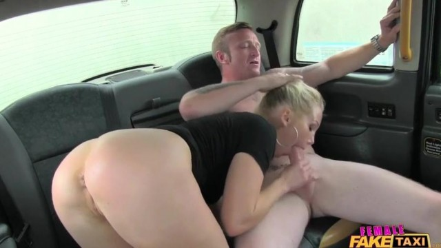Fake Taxi Female driver gives Head on the backseat Video thumb #6