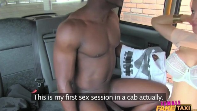 Female fake taxi fancies a black cock Video thumb #18