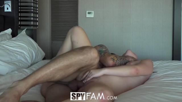 SpyFam - Stepsister Alyssa Cole fucked by step brother Video thumb #10