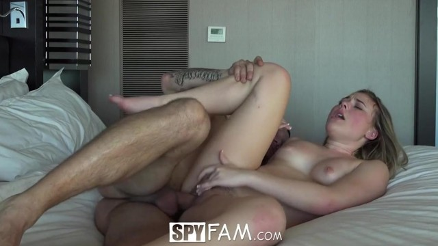 SpyFam - Stepsister Alyssa Cole fucked by step brother Video thumb #11