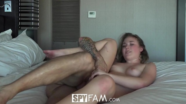 SpyFam - Stepsister Alyssa Cole fucked by step brother Video thumb #12