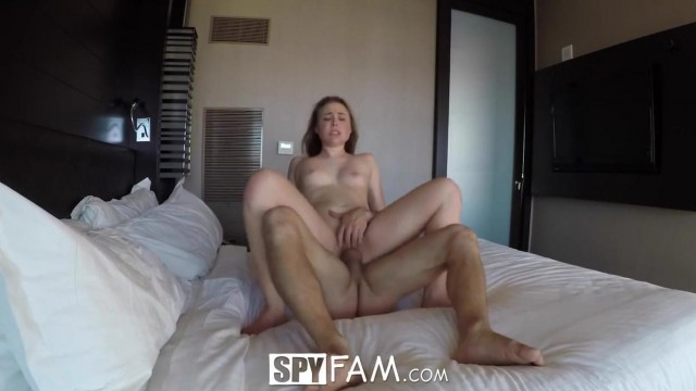 SpyFam - Stepsister Alyssa Cole fucked by step brother Video thumb #16