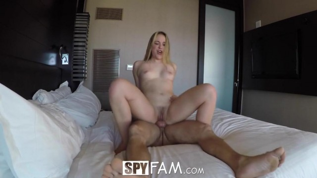 SpyFam - Stepsister Alyssa Cole fucked by step brother Video thumb #17