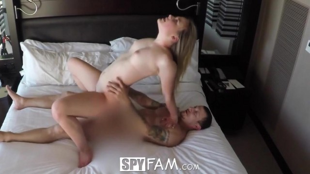 SpyFam - Stepsister Alyssa Cole fucked by step brother Video thumb #18
