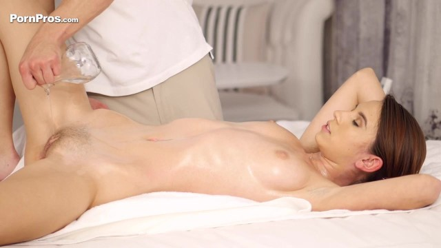 Brunette Pornstar Cece Capella Massage Video thumb #9