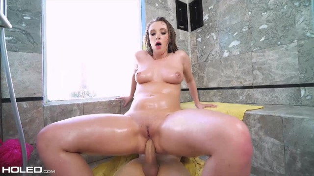 Harley Jade asshole engulfes a fat cock Video thumb #1