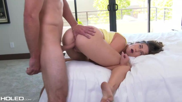 Brunette anal whore Cassidy Klein ass fucking in POV Video thumb #6